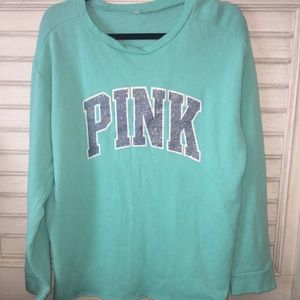 Victoria's secret sweatshirt size large